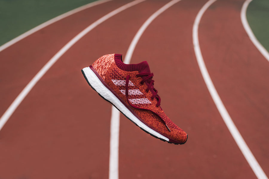 adidas AdiZero Prime BOOST LTD - Collegiate Burgundy / White / Orange