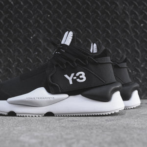 Y-3 Kaiwa Knit - Core Black / White