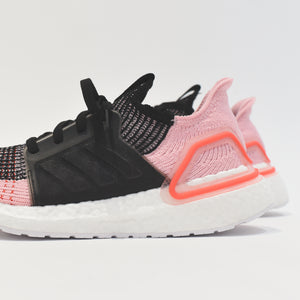adidas Consortium WMNS UltraBOOST 19 - Black Orchid / Core Black / True Pink / Orange Image 5