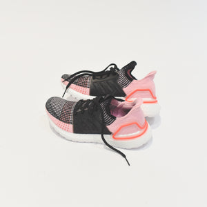 adidas Consortium WMNS UltraBOOST 19 - Black Orchid / Core Black / True Pink / Orange Image 6