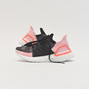 adidas Consortium WMNS UltraBOOST 19 - Black Orchid / Core Black / True Pink / Orange Image 8