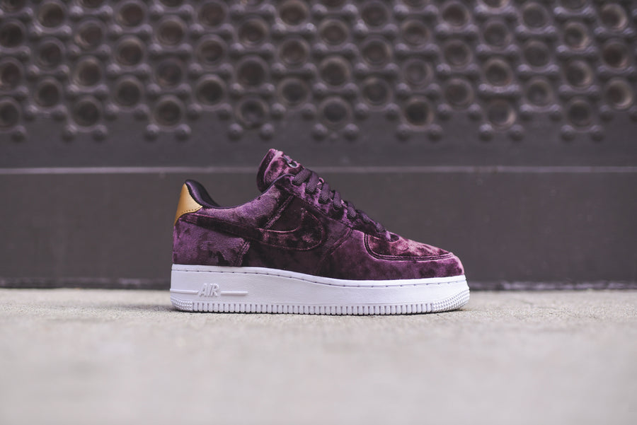 Nike WMNS Air Force 1 PRM - Wine / White