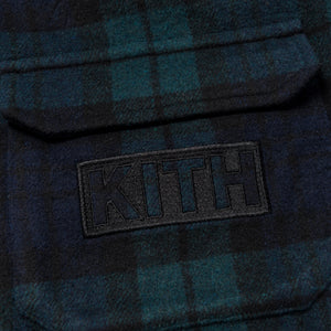 Kith Kids Harrison Plaid Pullover - Blackwatch Plaid