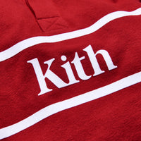 Kith Kids Varsity Rugby - Red Thumbnail 1