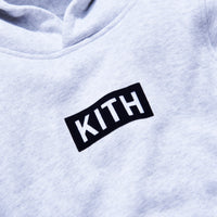 Kith Kids Classic Williams Hoodie - Heather Grey Thumbnail 1
