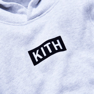 Kith Kids Classic Williams Hoodie - Heather Grey Image 3