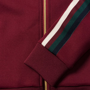 Kith Kids Track Jacket - Burgundy