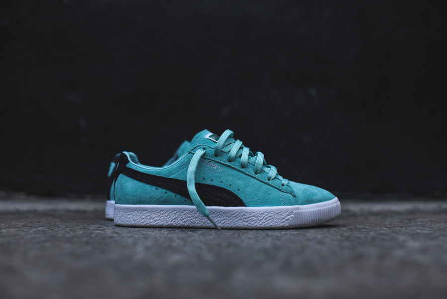 Puma x Diamond Supply Co. Clyde - Aruba Blue / Black / White