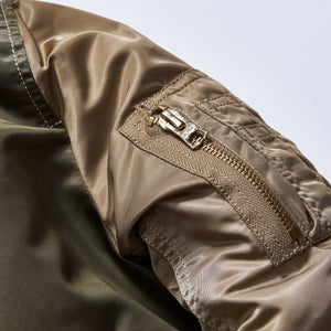 Kith Kids x Alpha Industries Youth MA-1 Bomber Jacket - Olive / Beige