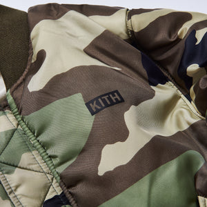 Kith Kids x Alpha Industries Toddler MA-1 Bomber Jacket - Olive / Beige Image 10