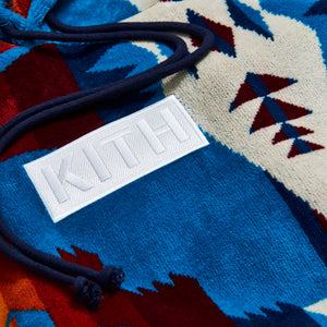 Kith x Pendleton Terry Williams Hoodie - Turquoise / Multi