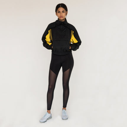 Kith Sport Porter Cropped Windbreaker - Black