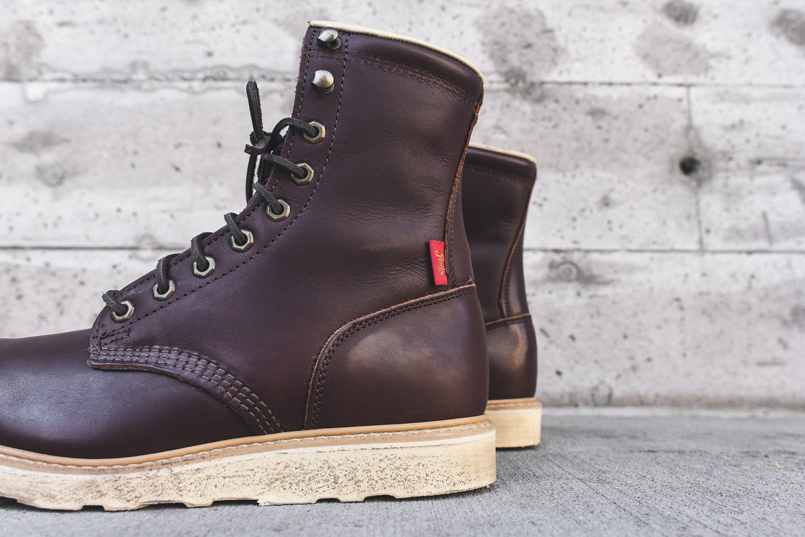 Gorilla USA High Boot - Chocolate