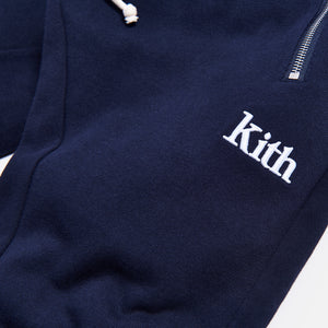 Kith Bleecker Sweatpant - Navy