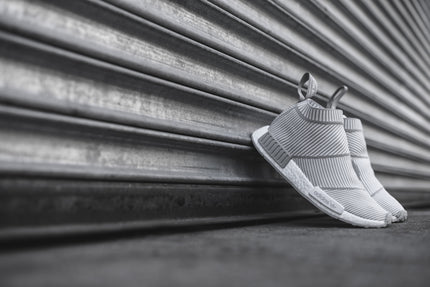 adidas Originals NMD City Sock R1 PK - White / Solid Grey
