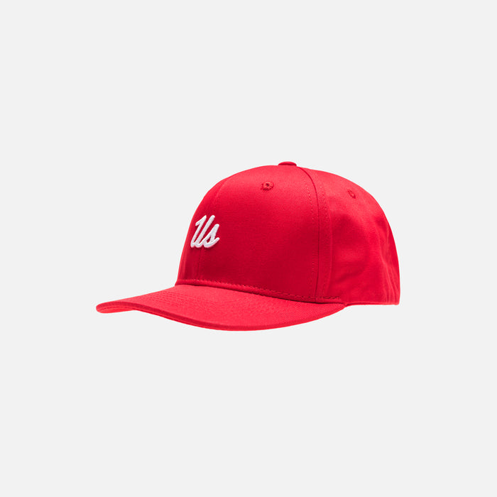Kith Kids US Snapback - Red