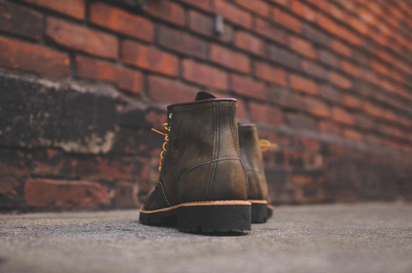 "Red Wing Roughneck 6"" Boot - Olive"