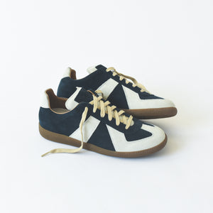 Maison Margiela Replica Low Top - Petrol / Pearl