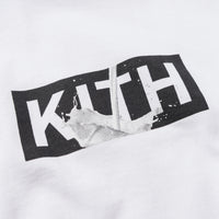 Kith Treats x got milk? Milk Splash Tee - White Thumbnail 1