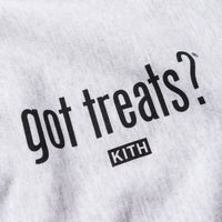 Kith Treats x got milk? Got Treats Crewneck - Heather Grey Thumbnail 1