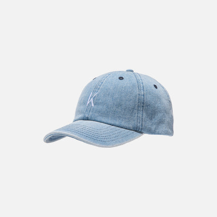 Kith Ralph Washed Denim Cap - Light Blue