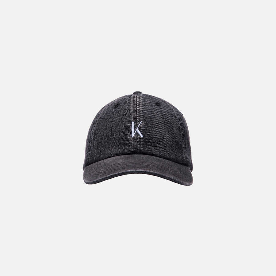 Kith Ralph Washed Denim Cap - Black
