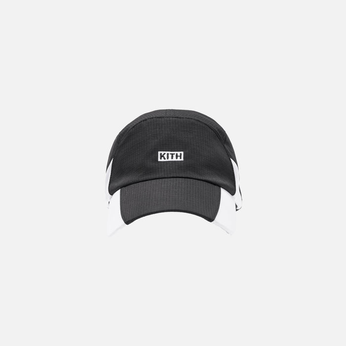 Kith x United Arrows & Sons Ripstop Runners Cap - Black