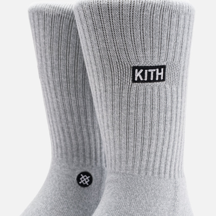 Kith x Stance 2.0 Classic Crew Sock - Grey