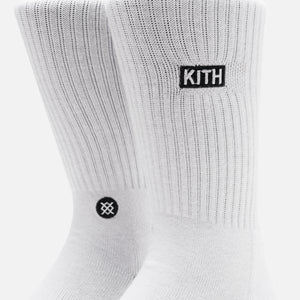 Kith Classics x Stance 2.0 Classic Crew Sock - White