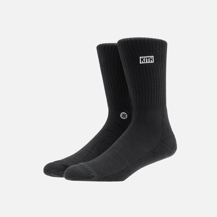 Kith x Stance 2.0 Classic Crew Sock - Black