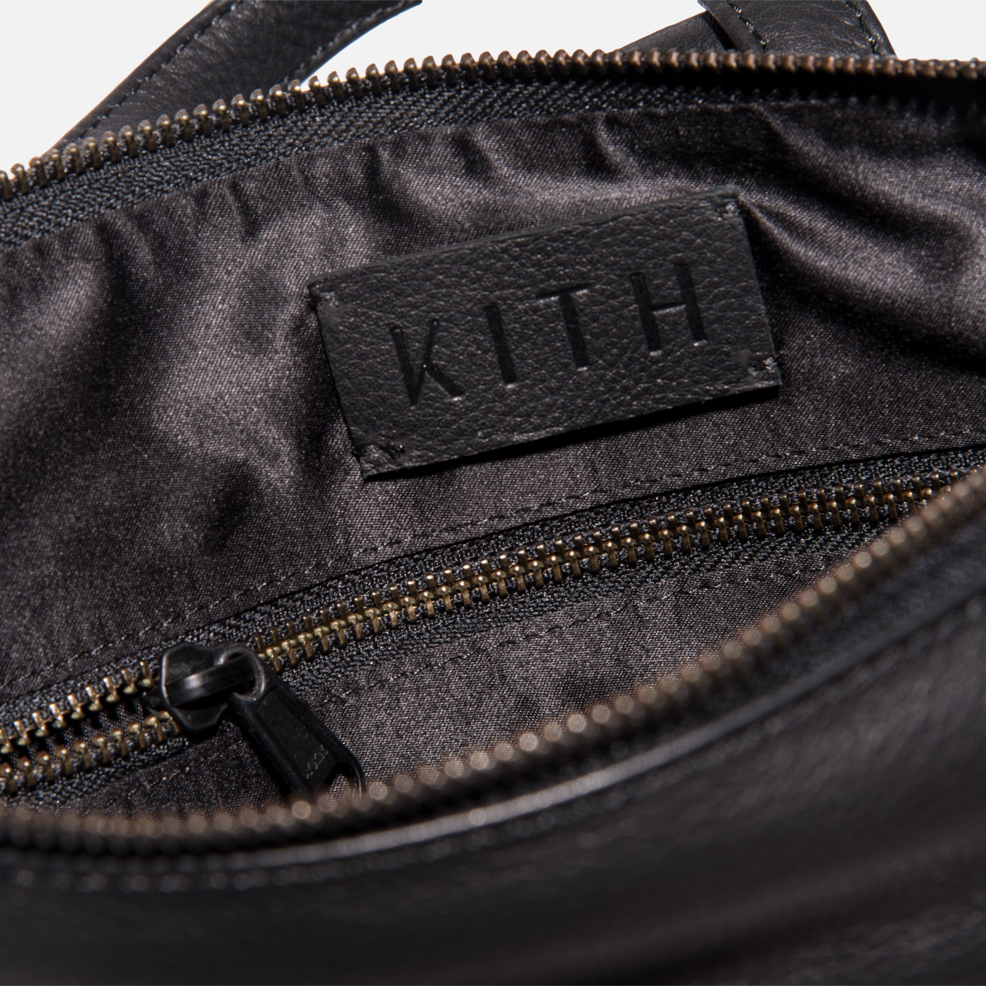Kith Emma Leather Backpack - Black