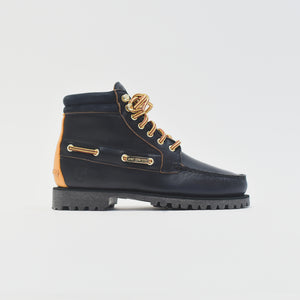 Timberland x Aimé Leon Dore 7 Eye Lug Sole Boot Navy