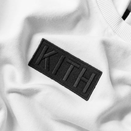 Kith Classic Logo Williams II Hoodie - White