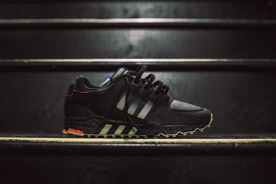 adidas Consortium x Highs & Lows EQT Running Support 93 - Core Black