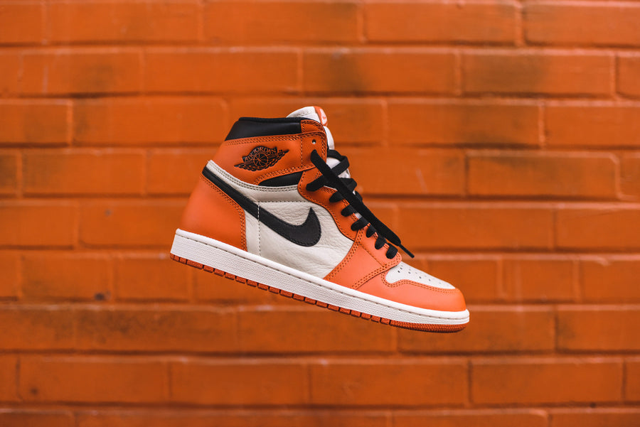 Nike Air Jordan 1 High GS Reverse Shattered Backboard - Orange