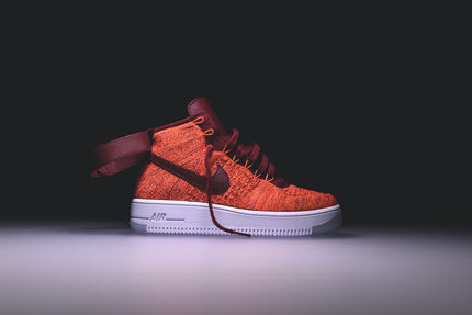Nike WMNS Air Force 1 Ultra Flyknit - Total Crimson