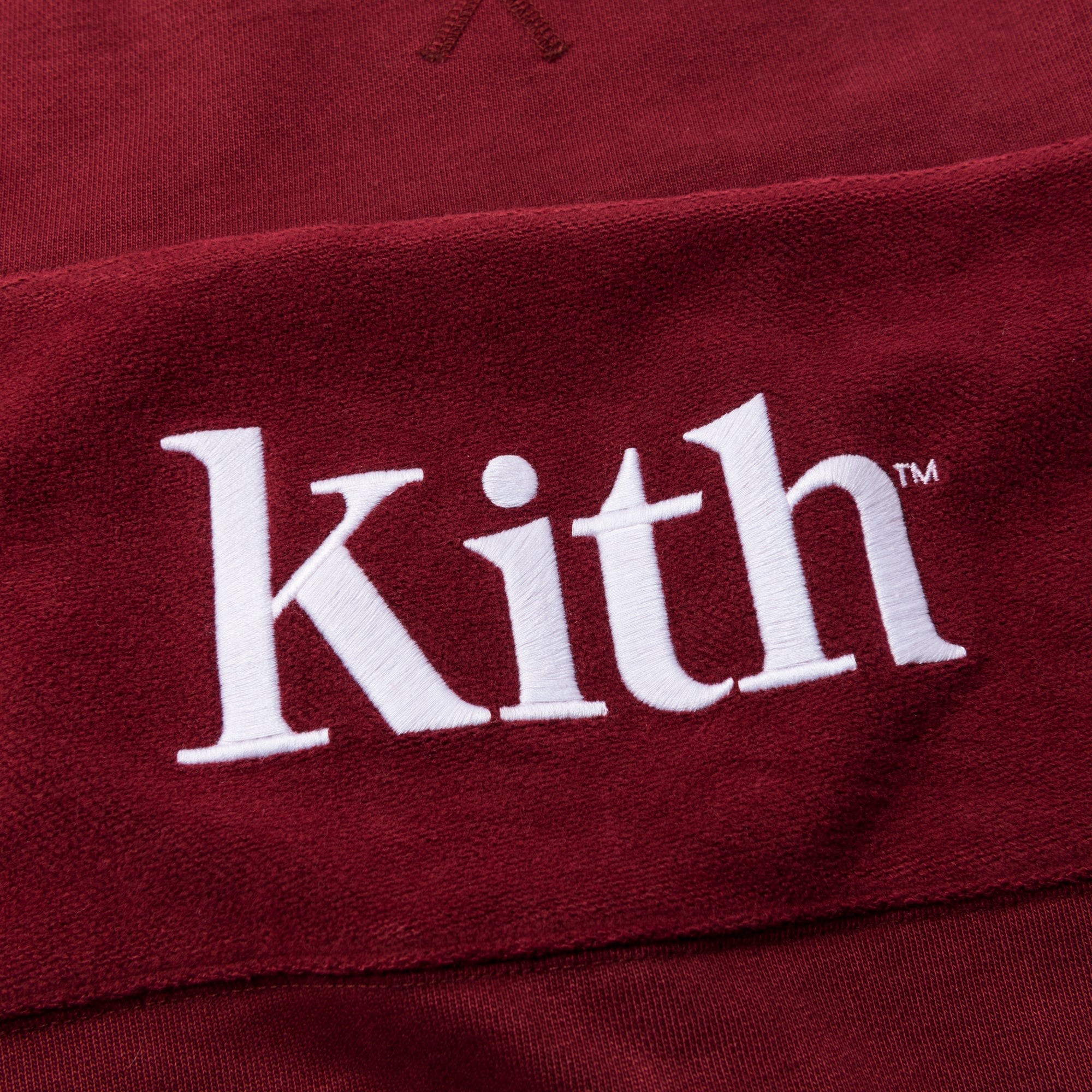 Kith Paneled Williams Crewneck - Rust