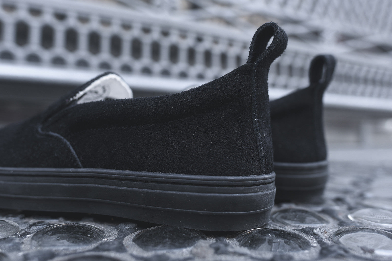 Buddy GS Low Slip-On - Night Black