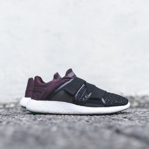 adidas by Stella McCartney WMNS Pure Boost - Black / Pomegranate