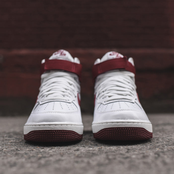 Nike Air Force 1 Hi Retro QS - Summit White / Team Red