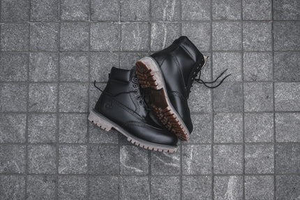 "Timberland 6"" Brogue Construct - Black"