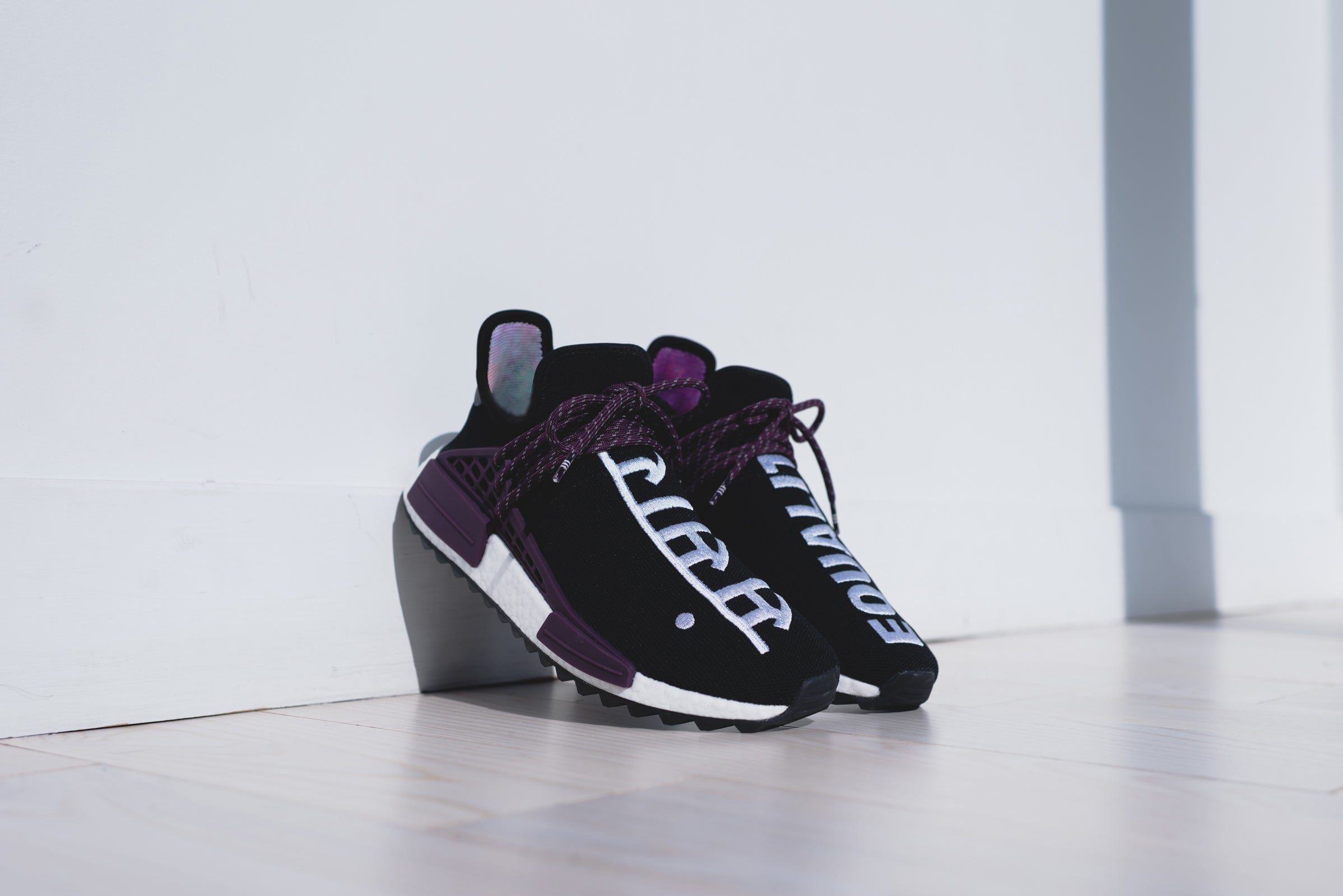 adidas Hu Originals x Pharrell Williams Hu adidas Holi NMD MC Negro / Negro 4fd84d