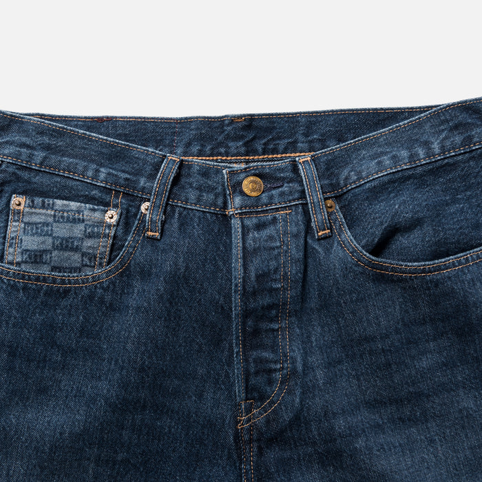 Kith x Levi's Monogram 501 - Dark Blue