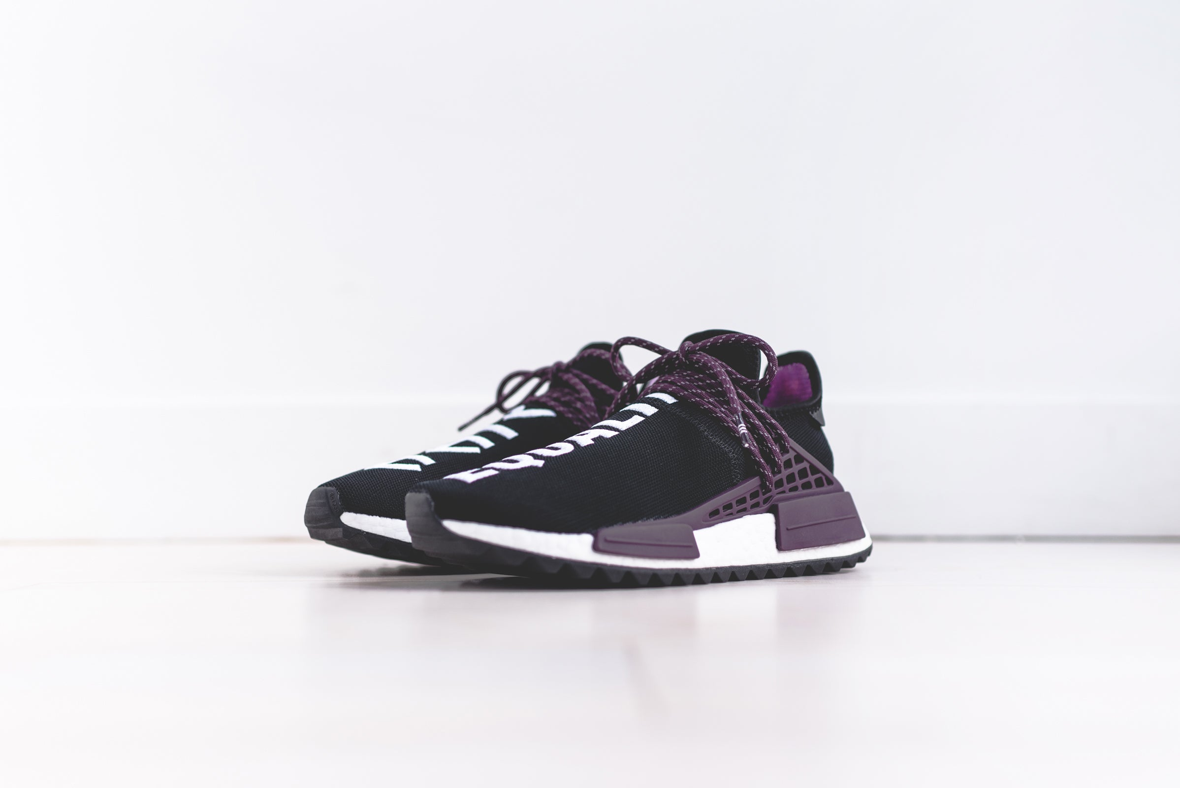 adidas Originals x Pharrell Williams Hu Holi NMD MC - Black / Black