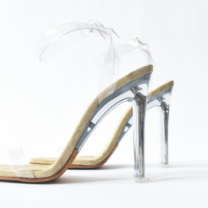 Yeezy WMNS Ankle Strap Sandal 110MM - Clear