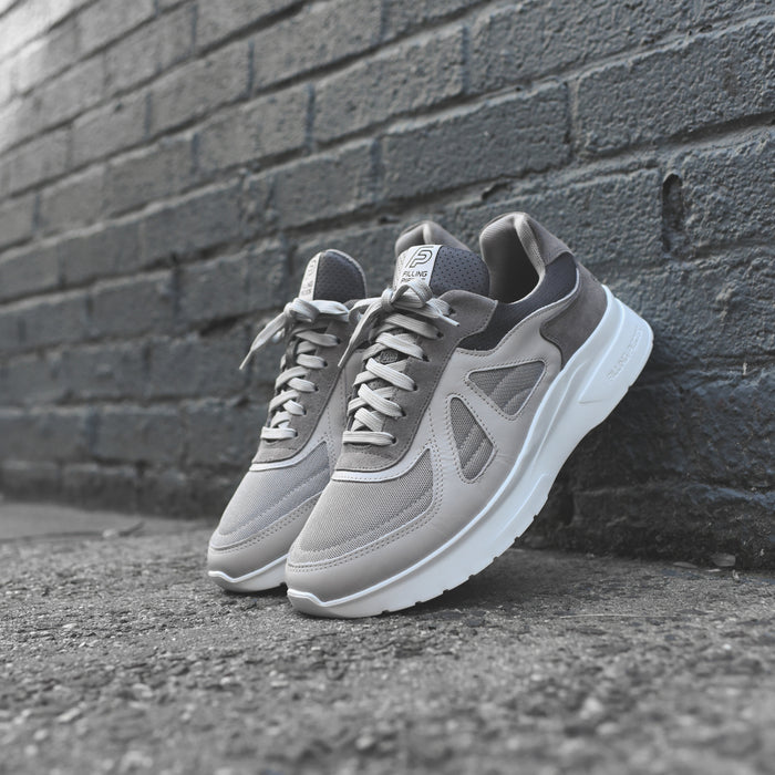 Filling Pieces Race Runner Jet Vesta - Grey / White