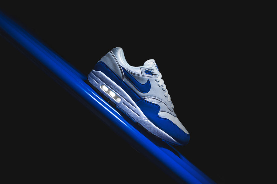 Nike Air Max 1 OG Anniversary - White / Game Royal