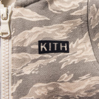 Kith Kids Toddler Camo Blocked Coverall - Off Beige / Multi Thumbnail 1