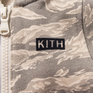 Kith Kids Toddler Camo Blocked Coverall - Off Beige / Multi Image 2