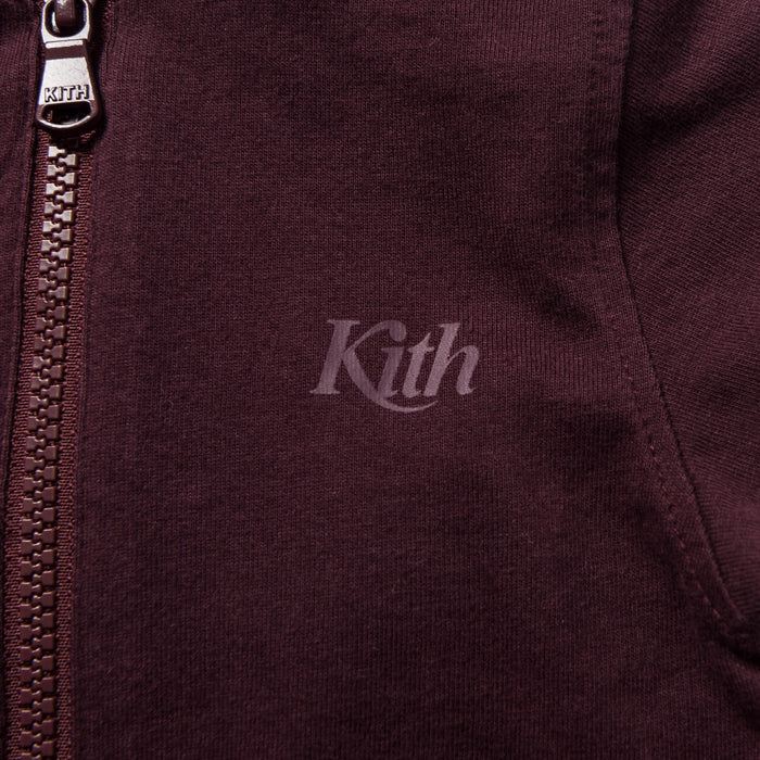 Kith Kids Toddler Swash Logo Coverall - Burgundy
